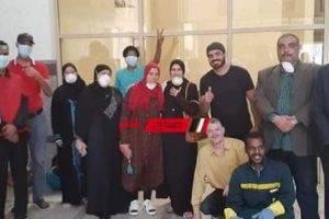 خروج 7 حالات جديدة من متعافي فيروس كورونا بمستشفى العزل بأسوان