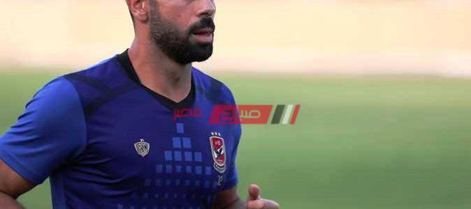 عبدالحفيظ يطمأن جماهير الأهلي على أحمد فتحي