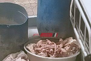 التموين تتحفظ على 2.5 طن لحوم ودواجن غير صالحة للإستهلاك الادمى