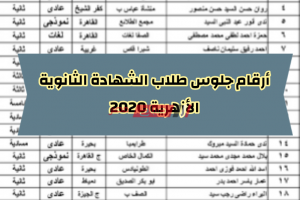 بالرقم القومي الاستعلام عن أرقام جلوس طلاب الشهادة الثانوية الأزهرية إليكترونياً على بوابة الأزهر الشريف