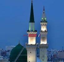 المسجد النبوى يستقبل المصلين بالكمامة لأول مرة اليوم