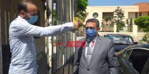 تعليم الإسكندرية يبدأ تفعيل ارتداء الكمامات