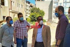 وكيل الصحة بدمياط يتفقد مستشفى الصدر المخصصة لعزل المصابين بفيروس كورونا