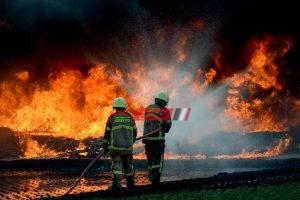 اندلاع حريق في شقة سكنية بالجيزة اثر ماس كهربائي