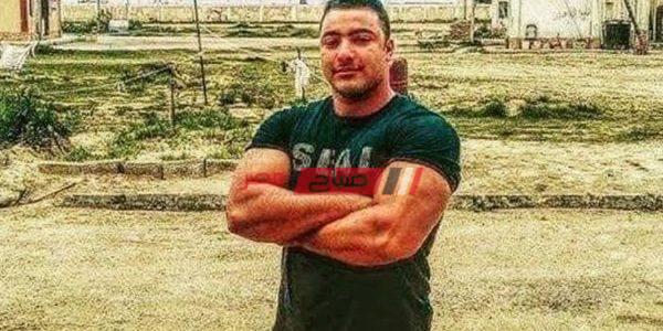 زوجة الشهيد خالد مغربى : نفسى أبنى يروح سيناء يكمل مسيرة أبوه