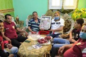 تضامن دمياط تشارك أسرة البطل الشهيد  محمود محمد المجدي احتفالات عيد الفطر المبارك