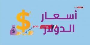 سعر الدولار اليوم السبت 30_5_2020 في مصر