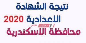 نتيجة الشهادة الإعدادية الاسكندرية 2020