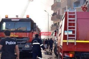 إخماد حريق نشب في شقة سكنية بدمياط دون وفيات