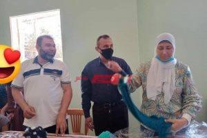 ورشة نشاط للأشغال اليدوية بمؤسسة البنات بدمياط