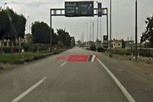 استمرار توسيع طريق الفيوم والمحاور الجديدة لزيادة تدفق حركة المرور