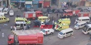 النيابة تكشف سبب حريق مستشفى عزل ومصرع 7 مرضي