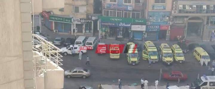 بالصور تفاصيل مصرع 7 مرضي فى مستشفى خاص بالإسكندرية والنيابة تعاين