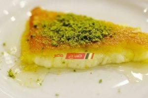 طريقة عمل الكنافة الكذابة على طريقة مطبخ صباح مصر
