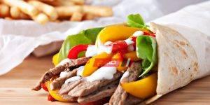 ساندويتش فاهيتا اللحم