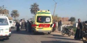 إصابة شخص جراء حادث تصادم مروع