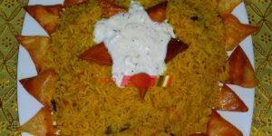 طريقة عمل الأرز البسمتي بالكاري