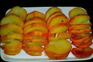 طريقة عمل البطاطس الحلزونية في خطوة واحدة للمبتدئين