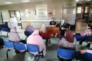 التأمين الصحي يتابع تجهيز عيادات لجان الثانوية العامة ببني سويف