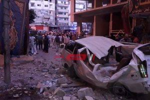 ملوحة البحر السبب فى سقوط شرفة على مواطن وطفلة ومصرعهم بالإسكندرية