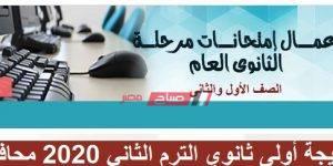 نتيجة أولى ثانوي الترم الثاني 2020 محافظة دمياط