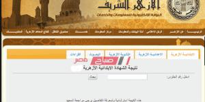 نتيجة الشهادة الإبتدائية الأزهرية محافظة الفيوم