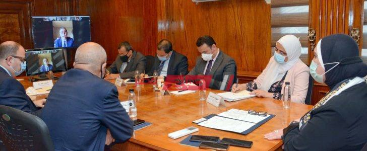 وزيرة الصناعة تشارك فى الاجتماع الأول للمجلس التصديرى للصناعات الكيماوية