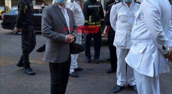 محافظ الإسكندرية يتفقد حريق مستشفى خاص بعد مصرع 7 حالات وإصابة 9 آخرين