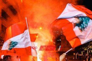 شوراع لبنان تشتعل بسبب سوء الأحوال الإقتصادية