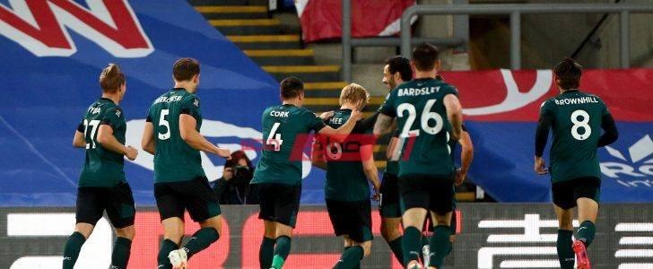 نتيجة مباراة كريستال بالاس وبيرنلي بطولة الدوري الإنجليزي