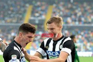 نتيجة مباراة أودينيزي وسبال بطولة الدوري الإيطالي