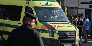 إصابة اثنين فى حادث تصادم سيارة