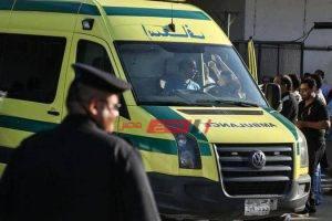 إصابة اثنين فى حادث تصادم سيارة بمنطقة سبورتنج بالإسكندرية