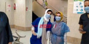 إصابة الطبيبة بفيروس كورونا