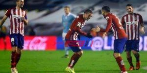 مباراة اتلتيكو مدريد مع سيلتا فيغو