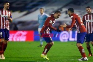 نتيجة مباراة اتلتيكو مدريد وسيلتا فيغو بطولة الدوري الاسباني