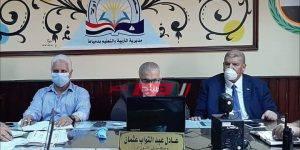 اجتماع وكيل وزارة التربية والتعليم بدمياط