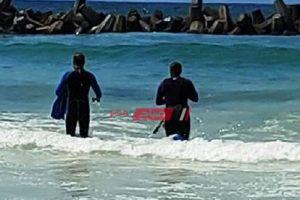 استمرار البحث عن جثة شادى الغريق فى واقعة شاطئ النخيل بالإسكندرية
