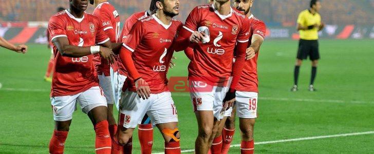 الأهلي يفقد نجمه ضد الوداد المغربي بدوري أبطال إفريقيا