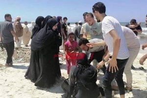 قوات الإنقاذ النهري تنتشل الجثة الـ 11 من غرقى شاطئ النخيل