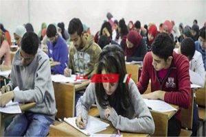 ضبط الطلاب المسئولين عن تداول أجزاء من امتحانات الإستاتيكا والأحياء والفلسفة والمنطق