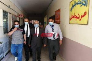 رضا حجازى يتفقد سير أعمال امتحانات الثانوية العامة بالإسكندرية
