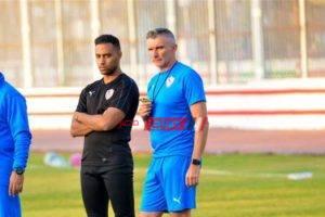 كارتيرون يستقر على الدفع بمصطفى محمد في مباراة مصر المقاصة