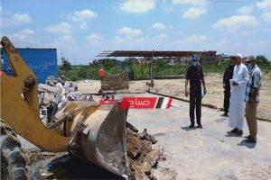 حملة لإزالة التعديات على الأراضي تسفر عن ضبط 45 حالة بالبحيرة