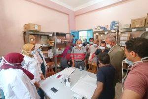 السكرتير العام بقنا يعلن تعافى وخروج 149 حالة من مستشفى الوقف