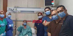 حالات التعافي بالمستشفى