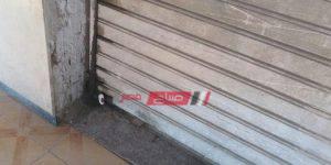 حملات إزالة إشغالات وغلق 4 محلات مخالفة