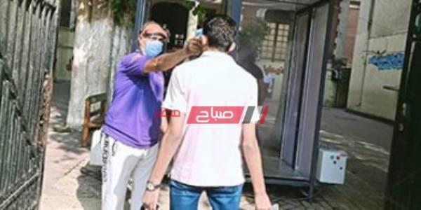 استمرار عمليات التعقيم والتطهير بمدارس الثانوية قبل دخول الطلاب بالشرقية وشمال سيناء
