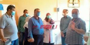 زيارة تفقدية لمستشفيات دمياط