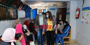 زيارة محافظ دمياط لمستشفى الرمد